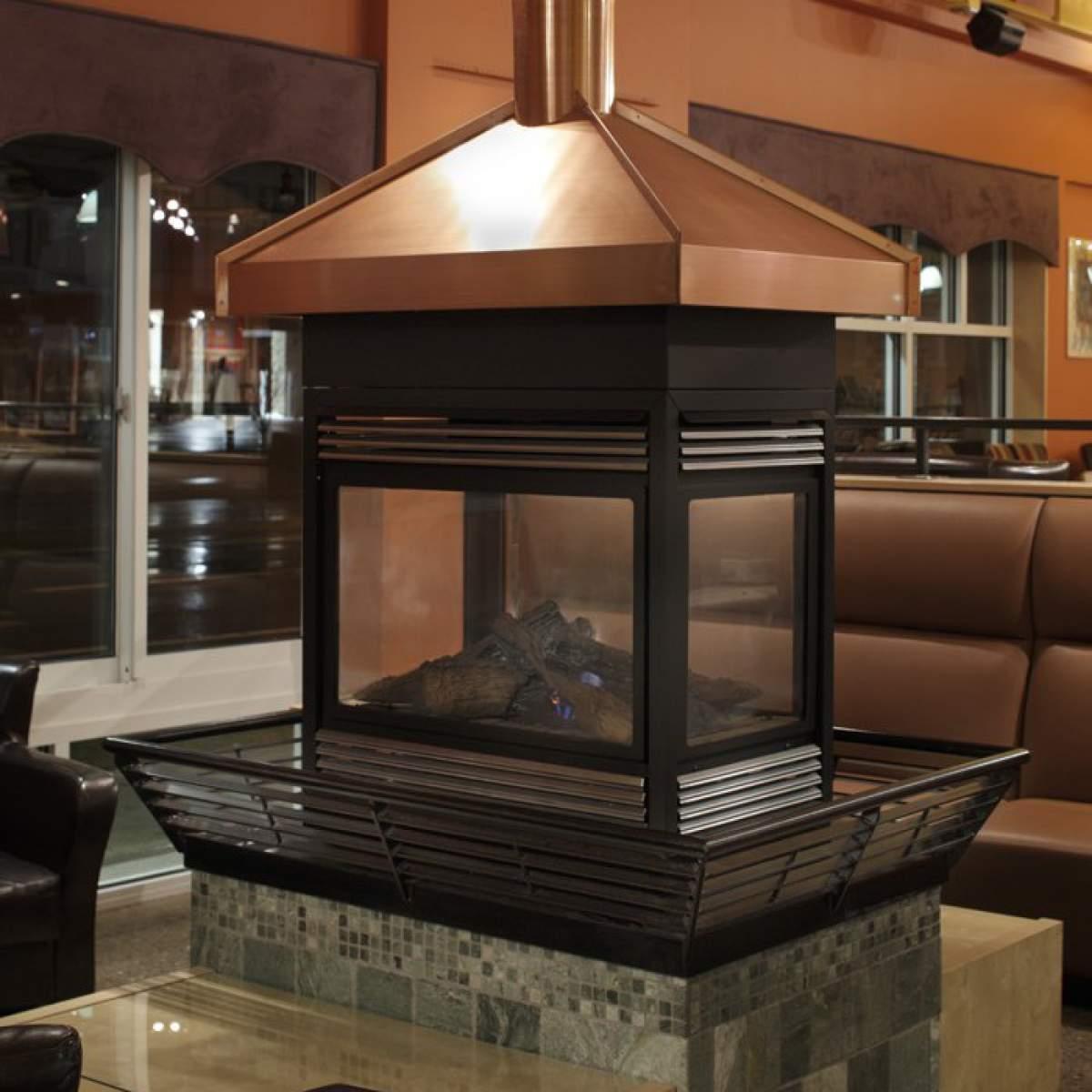 Copper Fireplace Hood Bear Metal Works